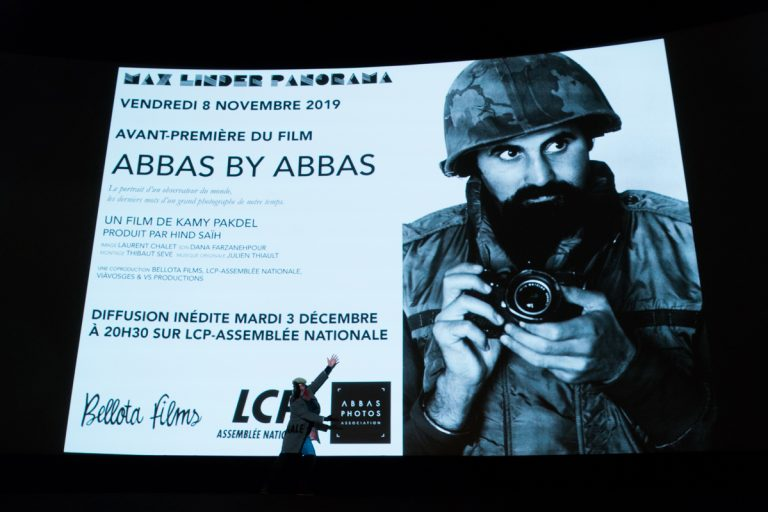 """Abbas by Abbas"" film premiere and commemorative party in Paris"