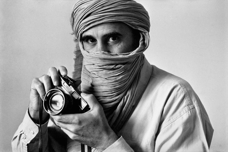 The Iranian photographer ABBAS. Photography by Jean Gaumy.