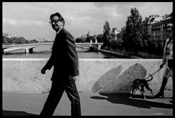 FRANCE. Paris. Writer V.S. NAIPAUL. 1992.
