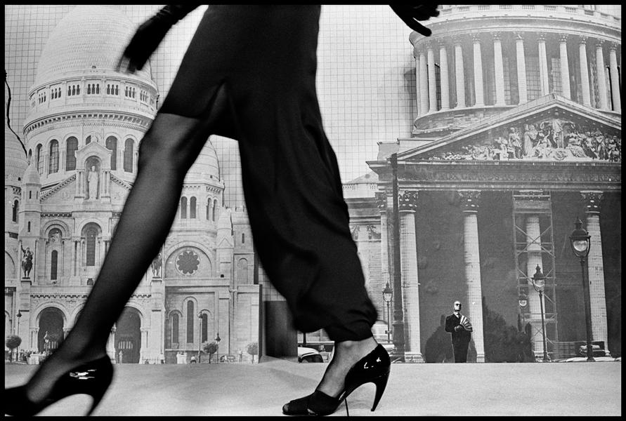 FRANCE. Paris. Haute-Couture Collections. CHANEL fashion show. 1986.