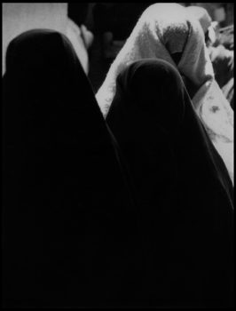 ALGERIA. Mzab. Ghardaïa. 1966. Among the Ibadites. Veiled women.