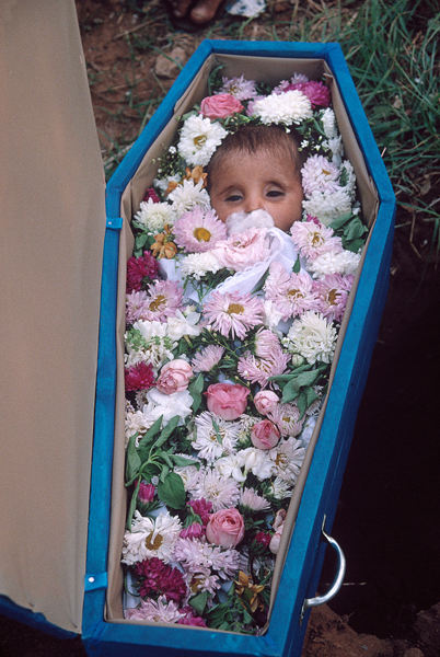 BRAZIL. Juazeiro do Norte. Burial at cemetery