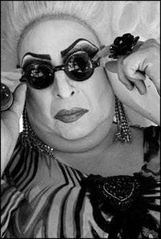 ISRAEL. Tel Aviv. Gay Pride 2015. A drag queen.