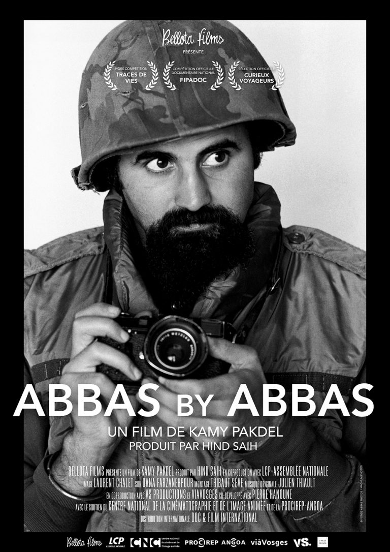 """ABBAS BY ABBAS"" in official selection of four FILM FESTIVALS in france"