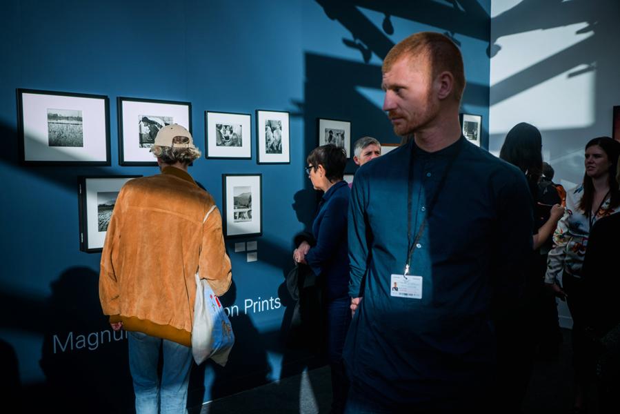 France. Paris. Grand Palais. Paris Photo. Magnum Gallery. November 2018.