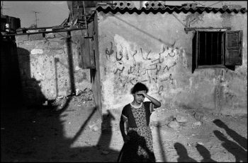ISRAEL. Gaza. 1991. Jalabiya refugee camp for Palestininans.